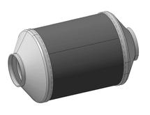 Каталитический нейтрализатор для погрузчика для погрузчика Komatsu AX-50 (FD 25T-17)