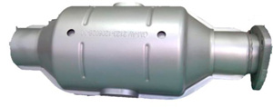 Нейтрализатор Ø 120,9 х 374* (400 ячеек)Шевроле-Нива /Евро-5, каталитический блок с керамическим носителем,URS G131 Е5
