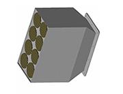 Каталитический нейтрализатор ЭМ.317-639-408 для оснащения маневровых тепловозов ТГМ-6.