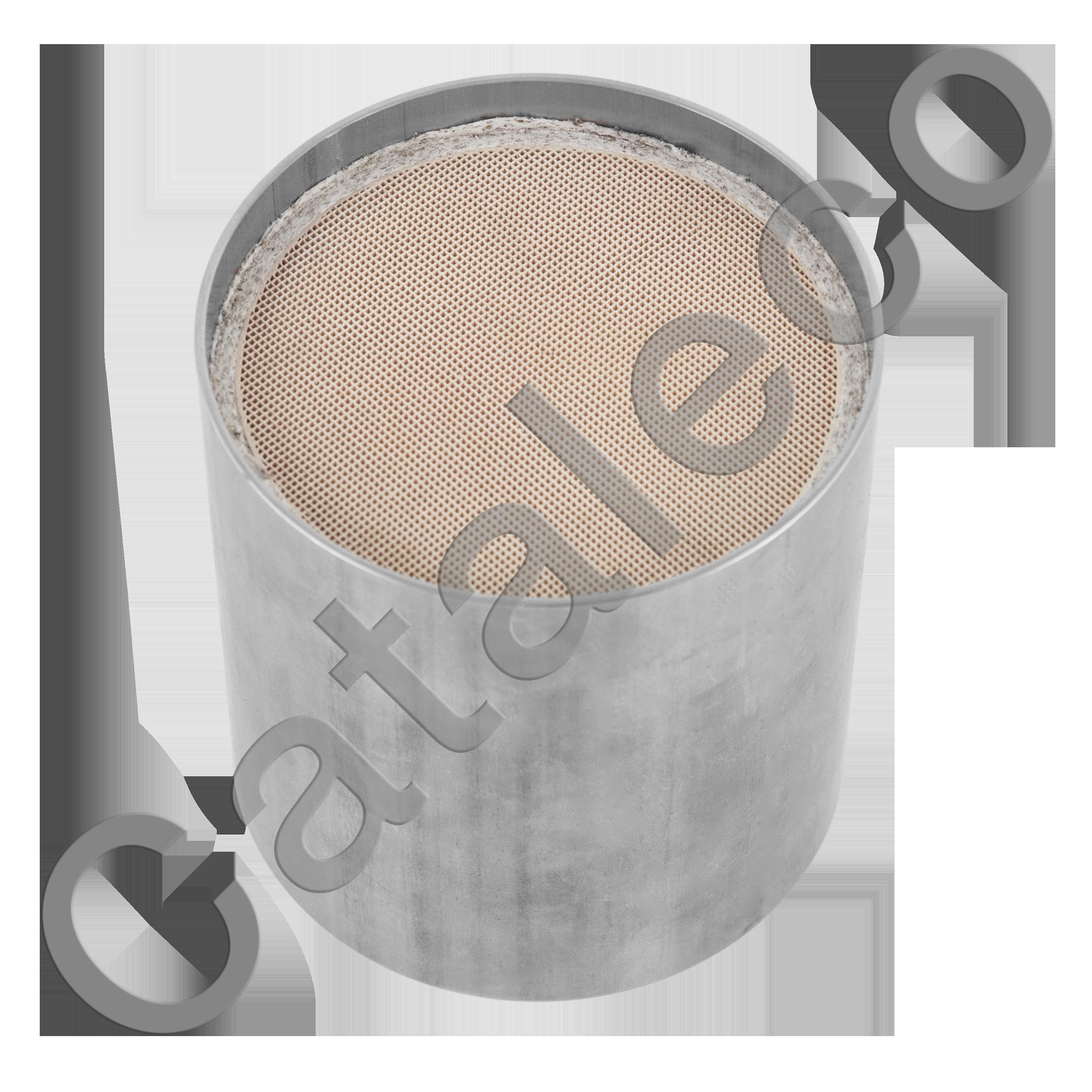 Универсальный керамический автомобильный катализатор для дизельного двигателя, евро-4, D=114,3 мм, L=120 мм, присоединительные размеры  76 мм
